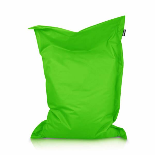 Sitzsack Rechteck - Apfelgrün, 100 x 70 cm 1