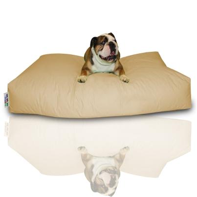 Hundekissen - Beige, 100 x 60 x 20 cm 1