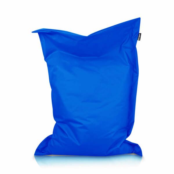 Sitzsack Rechteck - Blau, 100 x 70 cm 1