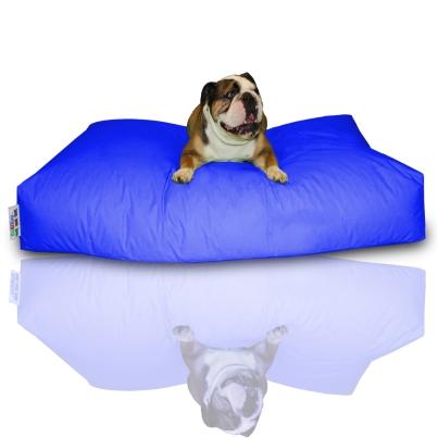 Hundekissen - Blau, 100 x 60 x 20 cm 1