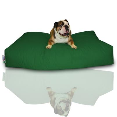 Hundekissen - Dunkelgrün, 120 x 80 x 20 cm 1