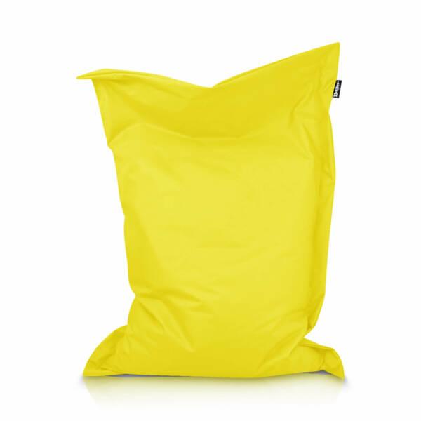 Sitzsack Rechteck - Gelb, 100 x 70 cm 1