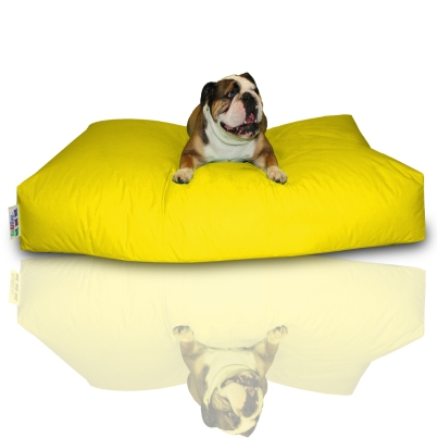 Hundekissen - Gelb, 120 x 80 x 20 cm 1