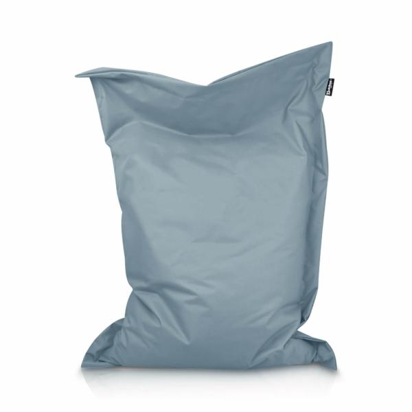 Sitzsack Rechteck - Hellblau, 100 x 70 cm 1