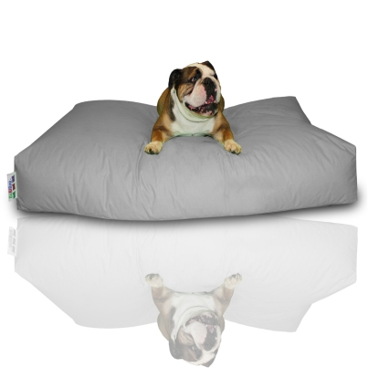 Hundekissen - Grau, 100 x 60 x 20 cm 1