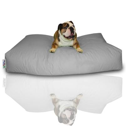 Hundekissen - Grau, 140 x 100 x 20 cm 1