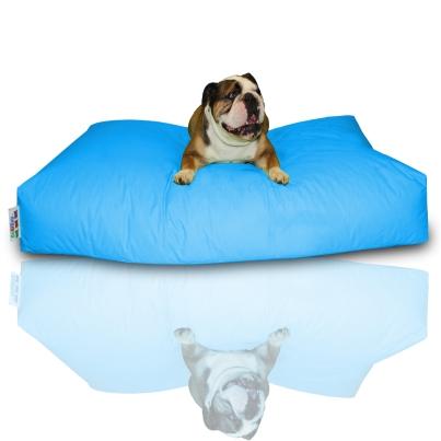 Hundekissen - Hellblau, 100 x 60 x 20 cm 1