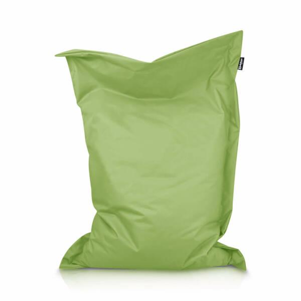 Sitzsack Rechteck - Neongrün, 100 x 70 cm 1