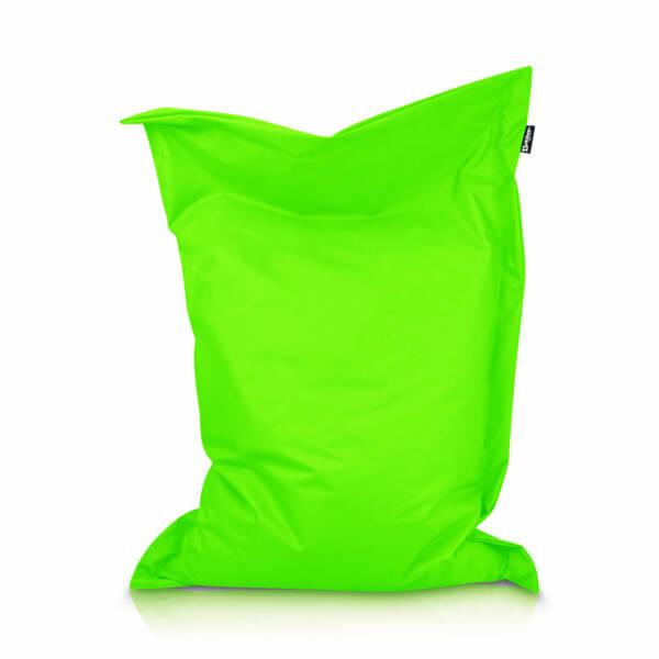 Sitzsack Rechteck - Neonorange, 70 x 70 cm 1