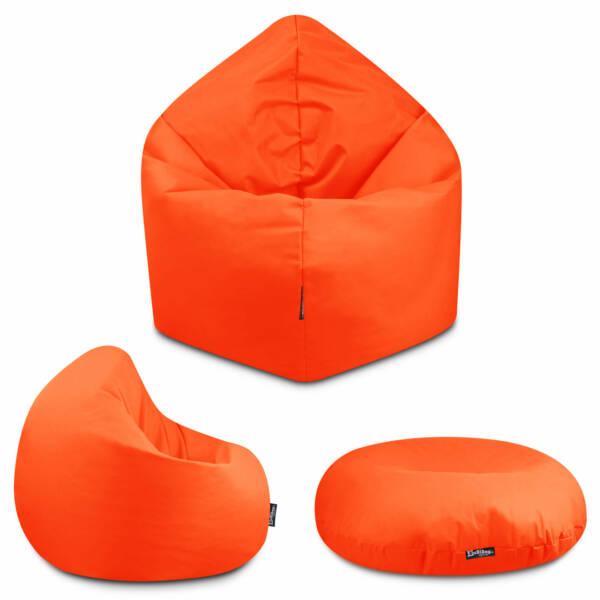 Sitzsack 2in1 - Lila, 70 cm Durchmesser ca