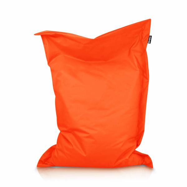 Sitzsack Rechteck - Orange, 100 x 70 cm 1