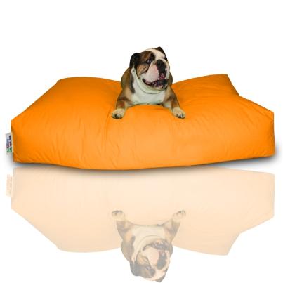 Hundekissen - Neonorange, 100 x 60 x 20 cm 1