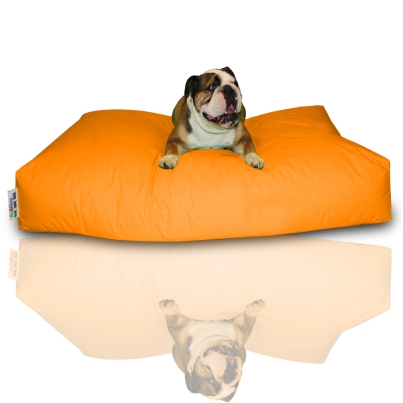 Hundekissen - Neonorange, 160 x 110 x 20 cm 1