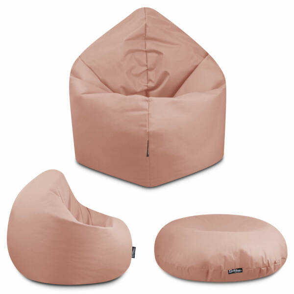 Sitzsack 2in1 - Sand, 125 cm Durchmesser ca